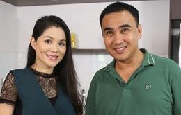 """Chồng bận... chạy show, vợ Quyền Linh khóc tủi thân vì """"một mình vượt cạn"""""""