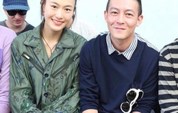 Trần Quán Hy và vợ siêu mẫu xuất hiện tại tuần lễ thời trang Paris