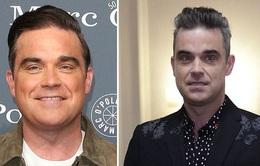 Khó nhận ra Robbie Williams trong sự kiện mới