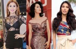 """Hoàng Thuỳ - Minh Tú – Lan Khuê dẫn đầu sao mặc đẹp; Lâm Chi Khanh """"hở bạo"""" vẫn kém duyên"""