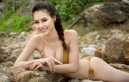 Hoa hậu Biển Thùy Trang nóng bỏng với bikini khoe dáng chuẩn nhất nhì Vbiz
