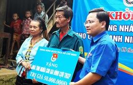 TW Đoàn xây nhà tình nghĩa cho vợ chồng cựu thanh niên xung phong nghèo