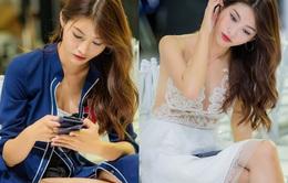 Quỳnh Châu khoe ngực đầy sau nghi án chia tay Quán quân Next Top 2014