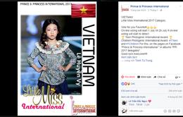 """3 mẫu nhí Việt Nam bất ngờ lọt top đầu cuộc thi """"Hoàng tử và công chúa quốc tế"""""""