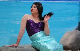 NSND Tự Long khiến khán giả cười lăn lộn khi hóa Hoa hậu Biển hồ