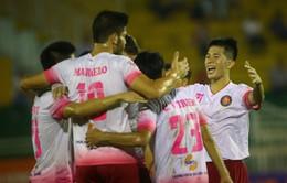 VIDEO: Tổng hợp trận đấu SHB Đà Nẵng 2-3 CLB Sài Gòn