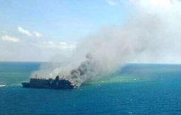 Cháy phà tại Indonesia, 5 người thiệt mạng, nhiều người mất tích