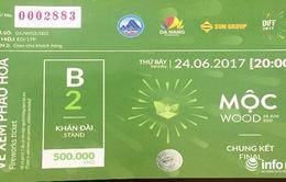 Xuất hiện vé pháo hoa giả tại Lễ hội pháo hoa quốc tế Đà Nẵng