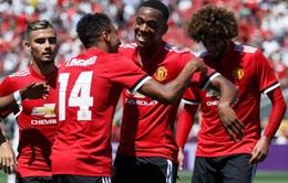 International Champions Cup: Manchester United giành chiến thắng trước Real Madrid trên chấm luân lưu