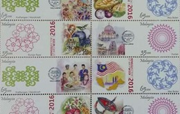 Malaysia phát hành bộ tem nhân dịp năm mới