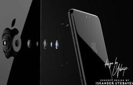 Độc đáo concept iPhone 8 với camera ẩn bên trong logo Apple