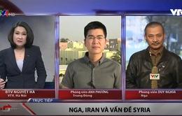 """Điều gì xảy ra khi """"lằn ranh đỏ"""" tại Syria bị vượt qua?"""