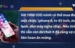 999 USD mua được gì nếu không chọn iPhone X?