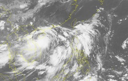 Sáng 17/7, bão số 2 đổ bộ vào đất liền các tỉnh từ Thanh Hóa - Hà Tĩnh