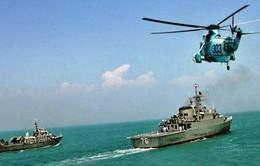 Iran tập trận hải quân