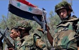 Quân đội Syria  ăn mừng chiến thắng tại  Deir Ezzor