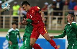 Hậu vệ Trương Đình Luật chia tay đội tuyển quốc gia