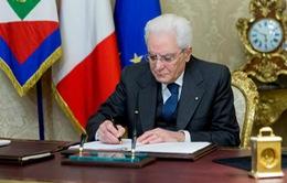 Italy giải tán Quốc hội