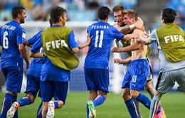 Kết quả tứ kết FIFA U20 thế giới 2017: U20 Italia vượt qua U20 Zambia chỉ với 10 người