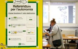 Trưng cầu dân ý đòi quyền tự trị ở Italy