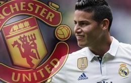 Man Utd chiêu mộ James Rodriguez: Đến Adidas cũng... ủng hộ