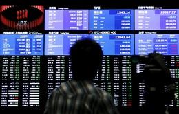 Nhiều chỉ số chính trên thị trường chứng khoán châu Á giảm điểm