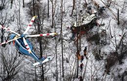 Trực thăng Nhật Bản rơi trên núi, ít nhất 3 người thiệt mạng