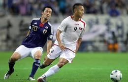 TRỰC TIẾP BÓNG ĐÁ M-150 Cup, Bảng A: U23 Nhật Bản - U23 CHDCND Triều Tiên: 16h00 hôm nay (11/12) trên VTV6