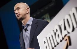 Khối tài sản của CEO Amazon Jeff Bezos tiếp tục tăng