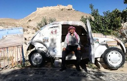 Khách sạn nhỏ nhất thế giới tại Jordan