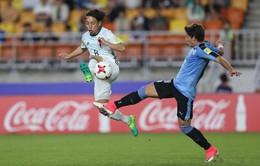 Kết quả FIFA U20 thế giới 2017: Vượt qua U20 Nhật Bản, U20 Uruguay giành vé vào vòng 1/8