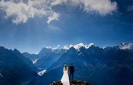 """""""Cạn lời"""" trước những bức ảnh cưới tuyệt đẹp vòng quanh thế giới"""