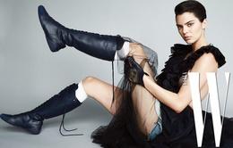Kendall Jenner khoe vẻ lạnh lùng