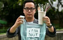 Túi làm từ khoai mì thay thế bịch nilon ở Indonesia