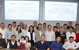 Ra mắt CLB các nhà khoa học Việt Nam đầu tiên tại Australia