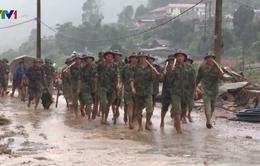 200 cán bộ, chiến sĩ Quân khu 2 khắc phục hậu quả lũ quét tại Yên Bái