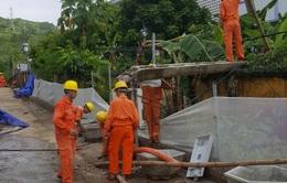 Sơn La nỗ lực cấp điện trở lại sau mưa lũ