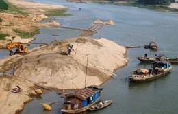 Khai thác cát trái phép trên các lưu vực sông lớn: Vẫn diễn biến phức tạp