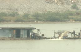 Vụ cát tặc lộng hành ở Bắc Ninh: Đình chỉ 3 thanh tra giao thông đường thủy