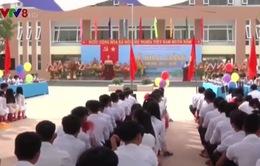 Khai giảng năm học mới trường THPT đầu tiên ở vùng Đông Quảng Nam