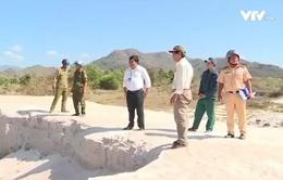 Bình Thuận: Sắp đấu giá quyền khai thác cát xây dựng