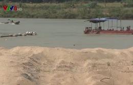 Nhiều địa phương buông lỏng quản lý khai thác cát, sỏi