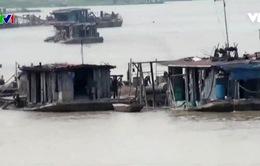 Bắc Giang: Khai thác cát phức tạp hơn khi xã hội hóa khai thông luồng lạch