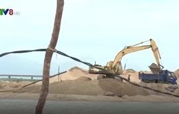 Phú Yên: Ra quân kiểm tra hoạt động khai thác cát