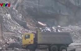 TT-Huế: Hàng trăm hộ dân bị nứt nhà do nổ mìn khai thác đá