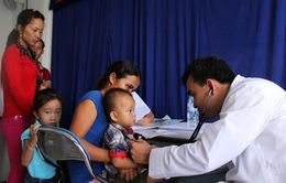 Khám sàng lọc bệnh tim bẩm sinh miễn phí cho gần 400 trẻ em