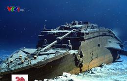 Khám phá xác tàu Titanic dưới đáy đại dương với giá hơn 2,2 tỷ đồng