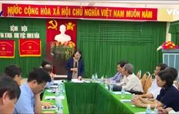 Bộ trưởng Bộ Y tế đề nghị phòng chống dịch bệnh sau bão lũ