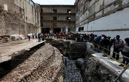 Phát hiện dấu tích đền thờ và sân bóng Aztec cổ đại tại Mexico