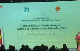 Khai mạc hội nghị chuyên đề IPU về ứng phó biến đối khí hậu